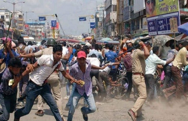 Poll violence Mars Polling in Mamata