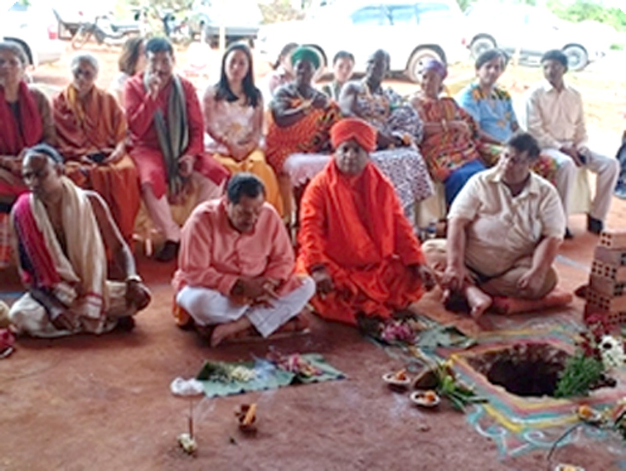 Virtual Yatra Held to Commemorate III Anniversary of 5th Dham Stone Laying Ceremony