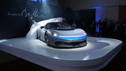 Pininfarina Battista Car Launch