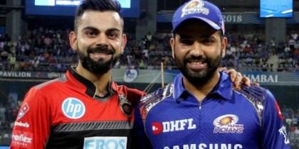 IPL UPDATE: RCB vs MI at the Chinnaswamy Stadium