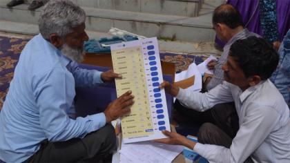 """Voting for second phase of 17th Lok Sabha elections started across India Today"" 
