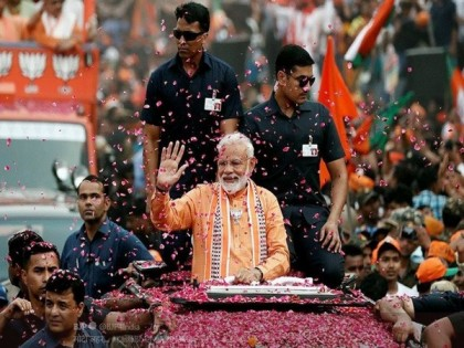 Modi Tsunami Brings NDA Back to power