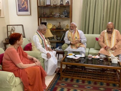 PM Modi's first stop at LK Advani and Murli Manohar Joshi after thumping win