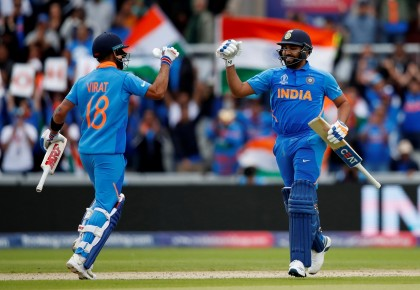 India register 7th consecutive triumph over arch rival Pakistan