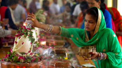 Devotees throng Shiv temples as the auspicious month of