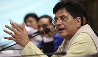 Piyush Goel applauds Indian Railways in London