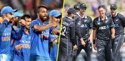 India take on New Zealand to make place in the
