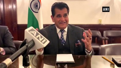 The merger of 54 labor laws into 4 to enable large-scale manufacturing in India Amitabh Kant.
