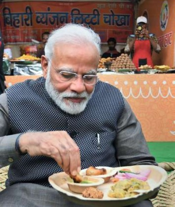PM Modi eat Litti Chokha: The stall at which PM Modi ate litti-chokha, the crowd gathered there