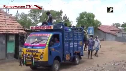 Villagers sanitise roads with Neem and Turmeric in TN