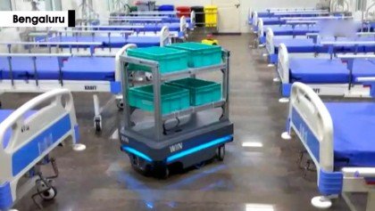 Automated trolleys developed to mitigate infection risks