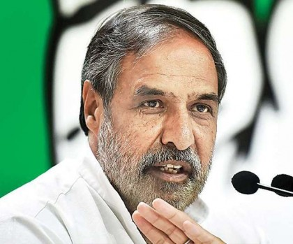 Govt. not even giving 2% in the name of economic package – Anand Sharma