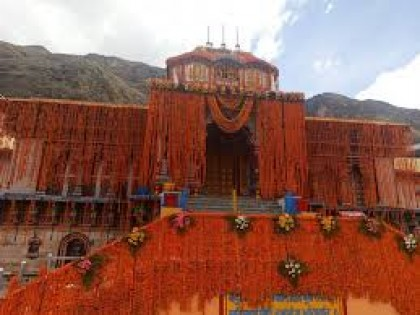Portals of Badrinath Shrine reopens