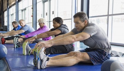 Moderate exercise in middle , older age cuts time spent in Hospital