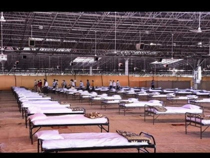 5000 bed COVID care centre set up by Radha Soami Satsangh Beas in Nagpur